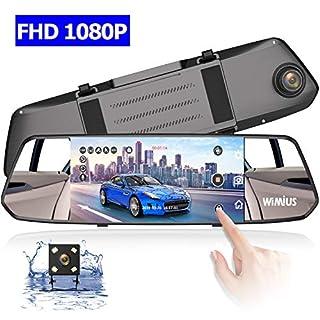Dashcam, Autokamera WiMiUS 1080P Front Lens Dashcam Auto mit 7