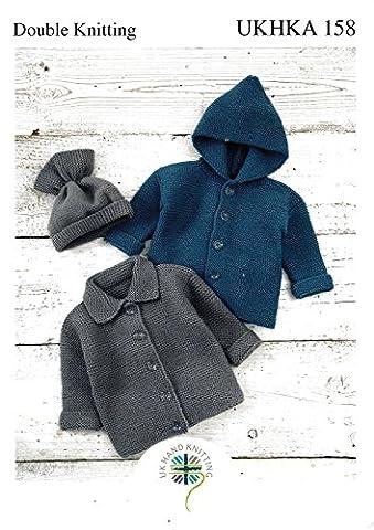Pattern: DK Jackets and Hat UKHKA\158