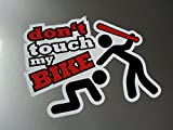 Dont touch my bike Shocker Hand Auto Aufkleber JDM Tuning OEM DUB Decal Stickerbomb Bombing fun