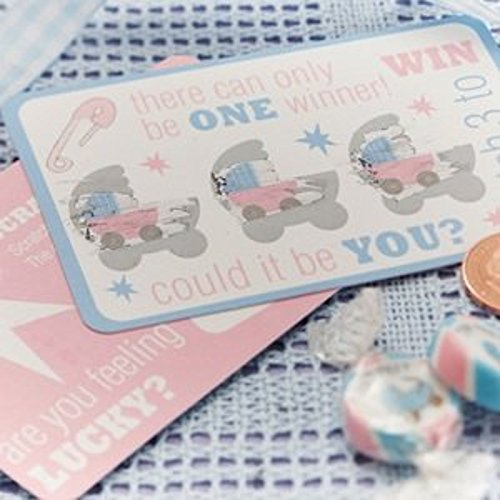 Uk-Baby-Shower-Co-Lot-de-10-cartes-de-jeu--scratch-pour-baptmebaby-shower