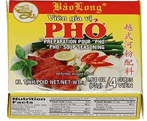 Pho Spice Cubes Beef Flavor Soup Seasoning (3-packs) by N/A