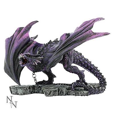 Nemesis Now Azar Chained Dragon 21cm Figurine Ornament Statue Alator Range