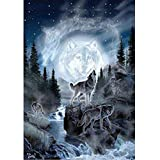 ❤ 40x30cm Mosstars 5D Embroidery Paintings Rhinestone Sweet Home Embroidery Painting DIY Diamond Painting Weihnachten Cross Stitch Wall Decorations with Full Flap Diamond Picture Cross Stitch Kit