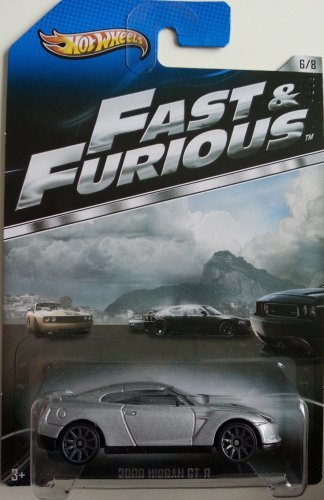 Voiture Miniature Hot Wheels 2013 Fast & Furious Édition Limitée - 2009 Nissan GT-R [6/8]