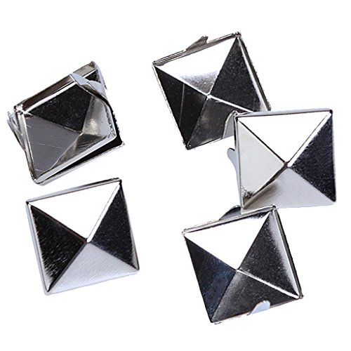 approx-100pcs-2-prongs-pyramid-studs-12mm-silver-great-for-any-leathercraft-project-like-velts-handb