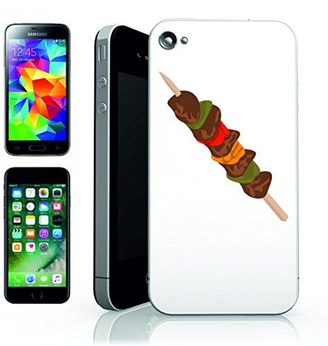 Smartphone Case BBQ del Magazzino di campeggio magnetica di vita medio di arrosto di carne per Apple Iphone 4/4S, 5/5S, 5C, 6/6S, 7& Samsung Galaxy S4, S5, S6, S6Edge, S7, S7Edge Huawei HTC–Di