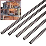 Saver 5pcs Black 4mm Diameter x 500mm Carbon Fiber Rods For Sand Table RC Airplane