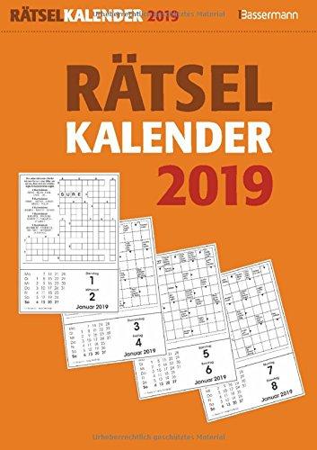 Rätselkalender 2019 Abreißkalender
