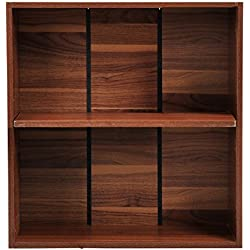 Mueble Archivo Estanteria 60x24x63cm Estante Madera Armario Libreria Oficina