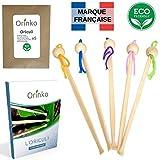 Oriculi en Bambou 5x - Cure Oreille Écologique pour Remplacement...
