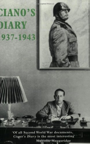 Ciano S Diary 1937 1943