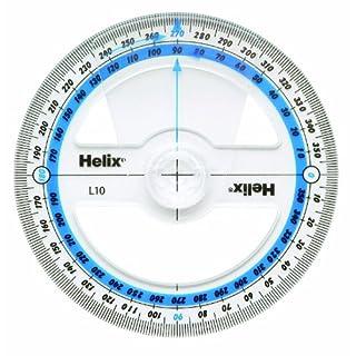 Helix Winkelmesser, 10 cm/360 Grad L10010