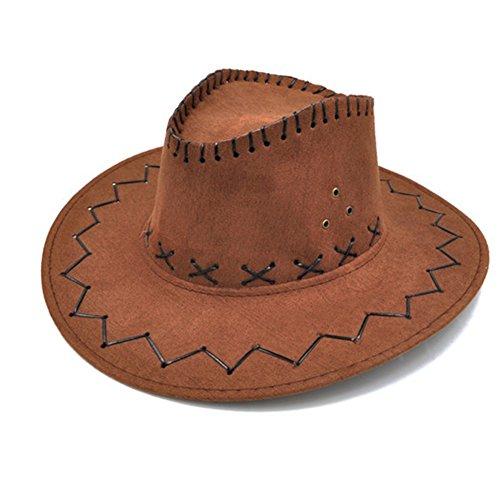 - Deluxe Braune Cowboy Kostüme