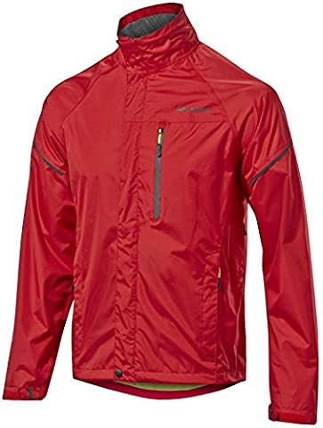 Altura Nevis III Jacket - Red, Large / Bicycle Biking Bike Cycling Cycle Commuting Commute Riding Ride Road MTB Mountain Winter Wet Cold Weather Waterproof Rain Water Coat Man Men Adult Clothing Clothes Wear Kit Top Upper Body Safety City