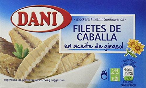 Dani Filetes De Caballa En Aceite De girasol - 115 g