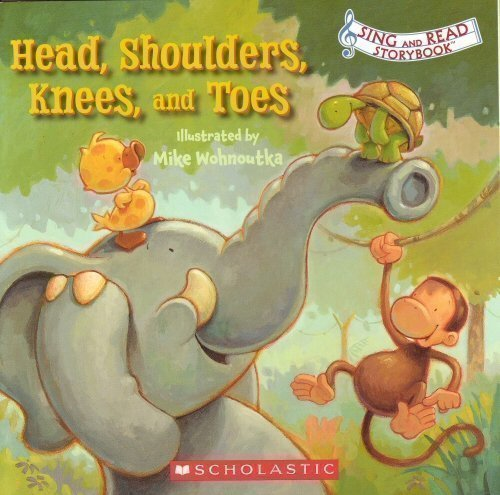 Preisvergleich Produktbild Head,  Shoulders,  Knees,  and Toes (Sing and Read Storybook) by None (2002-11-08)