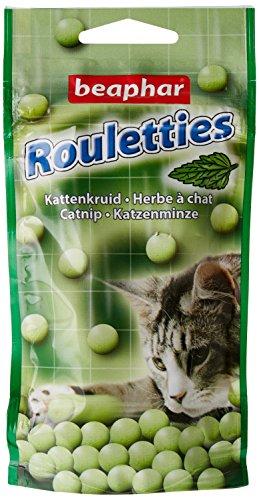 Beaphar Friandises Rouletties à l'herbe à chat - chat...
