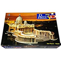Puzz 3D St. Peter's - Rome (966 pcs) Puzzle 850mm Long. Rated Super Challenging.