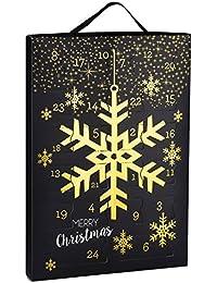 """SIX """"WEIHNACHTEN"""" kreativer Adventskalender für Frauen, Weihnachten, Schmuck Kalender, Ohrringe, Ringe, Ketten, Armband, Geschenk"""