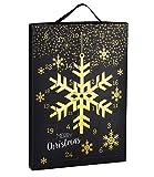 SIX 'WEIHNACHTEN' kreativer Adventskalender für Frauen, Weihnachten, Schmuck Kalender, Ohrringe, Ringe, Ketten, Armband, Geschenk
