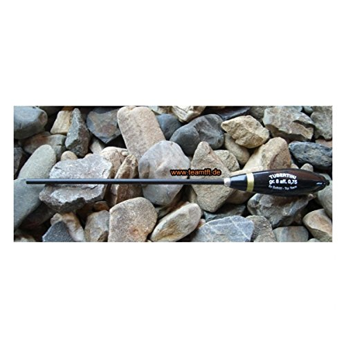 Tubertini Pro Suspende 1-2m schwarz - Bombarde zum Angeln auf Forelle, Bombarden zum Forellenangeln, Sbirolino für Forellen, Gewicht:10g / 1.0g Sinkgewicht