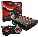 retro-bit Retro-Bit-RD-1279Retro-2-in-1Spielekonsole–Rot/Schwarz