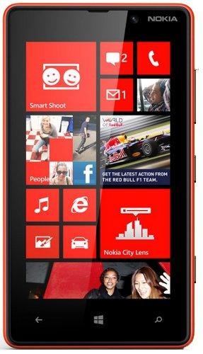 Nokia Lumia 820 8GB Rosso