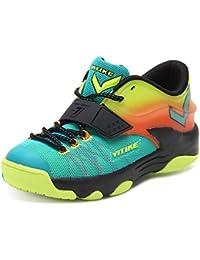 Niños Deportes Zapatos Chicos Malla Respirable Estudiante Baloncesto Zapatos Chico Antideslizante Corriendo Zapatos Sneakers Niño