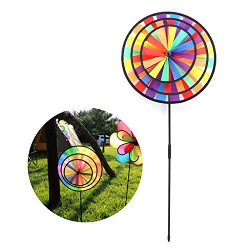 Regenbogen - Wind - Spinner Bunte Windmühle Süß - Tier Winnower Kinder - Spielzeug - Skala-timer