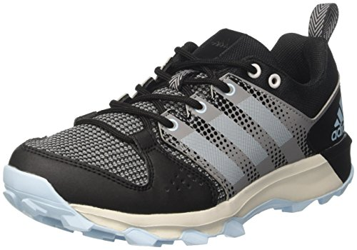 adidas Women's Galaxy W Trail Running Shoes, Blue (Core Black/Icey Blue), 6...