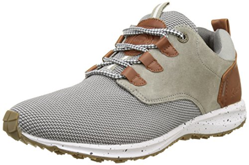 Kickers Slayer, Baskets Basses Homme Gris (Gris)