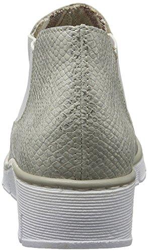Rieker Ladies 53790 Chelsea Boots Bianco (ice / 80)