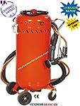 Sableuse mobile compl�te 106 litres a...
