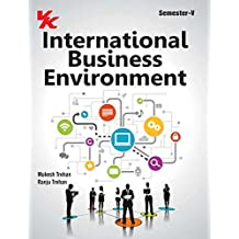 International Business Environment for Sem V (B.Com. - III)