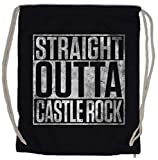 Urban Backwoods Straight Outta Castle Rock Bolsa de Cuerdas con Cordón Gimnasio