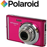 "Appareil photo numerique ultra compact Polaroid iE826 de 18 megapixels (18 Mpx, zoom optique 8x, batterie Li-Ion, ecran 2,4"") (rose)"