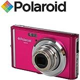 """Appareil photo numerique ultra compact Polaroid iE826 de 18 megapixels (18 Mpx, zoom optique 8x, batterie Li-Ion, ecran 2,4"""") (rose)"""