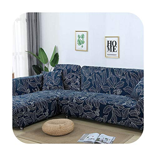Agust D 1 / 2Pc Sofabezüge für Wohnzimmer Needs Order Sofa Bezug-Set (2Piece) Wenn L-Form Ecksofa Möbel Von Kindern Haustiere, Farbe 18,3-Seater 190-230Cm Schützen -