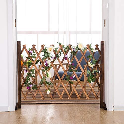 Kindersicherung Tor Massivholz Restaurant Dekoration Hund Zaun Zaun Zaun Haustier Partition Holzzaun Blumenständer (größe : 70cm)