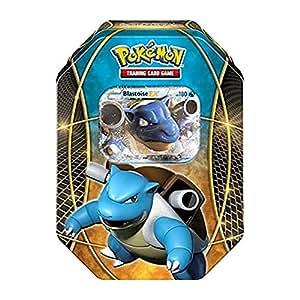 Boîte en fer de cartes Pokémon EX POWER TRIO BLASTOISE EX