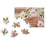 Hochzeitseinladungen - Idee: Hochzeitseinladungen 50 Stück als 24 Teile Puzzle mit eigenem Foto. Die Fotopuzzle-Hochzeitseinladung von fotopuzzle.de