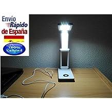 Flexo estudio juvenil juveniles LED. Lámpara de mesa para leer por la noche. Escritorio juvenil infantil o adulto.Plegable y se puede conectar al ordenador mediante el cable.