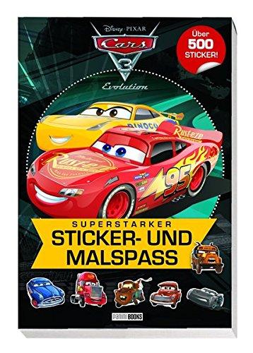 Disney Cars 3: Superstarker Sticker- und Malspaß: über 500 Sticker - über Evolution Buch Kinder