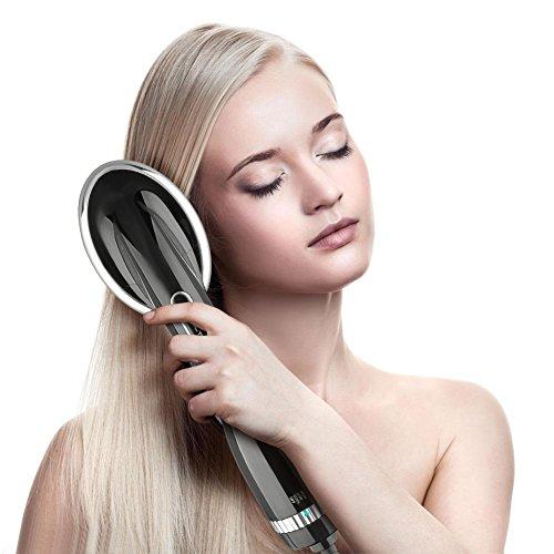 Glättbürste Ionen Haarglätter Bürste 2in1 Funktion Föhnen und Glätten,Cosansys Haarglätter Perfekt für trockenes & nasses Haar,Haarstyling Friseurbedarf Friseur Haare