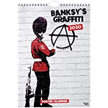 Banksy's Graffiti 2020 A3 Poster Calendar