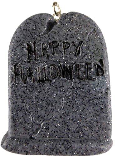 Halskette Kette Straß Gothic Halloween Helloween Grabstein Grab Friedhof handgemacht (Preise Grabstein)