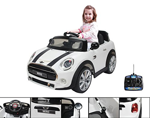 coche-elctrico-12v-para-nio-con-mando-a-distancia-parental-mini-cooper-de-color-blanco