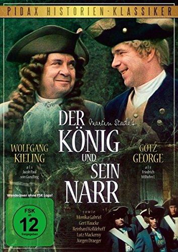 Der König und sein Narr/Historienfilm über Friedrich Wilhelm I. von Preußen mit Götz George und Wolfgang Kieling (Pidax Historien-Klassiker)