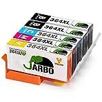 Ofertas Amazon para JARBO Compatible HP 364 XL Car...