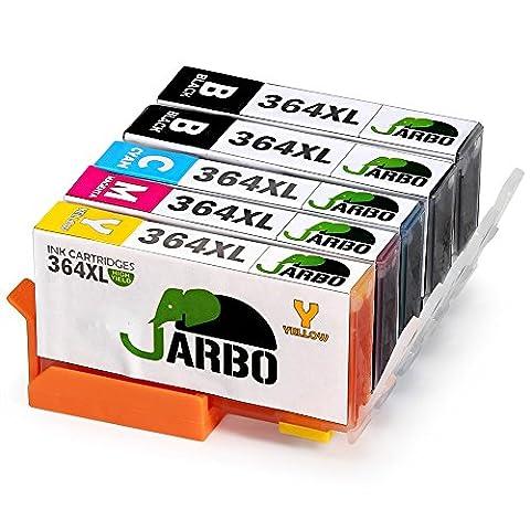 JARBO Remplacer pour HP 364 XL Cartouche d'encre 4 Couleur